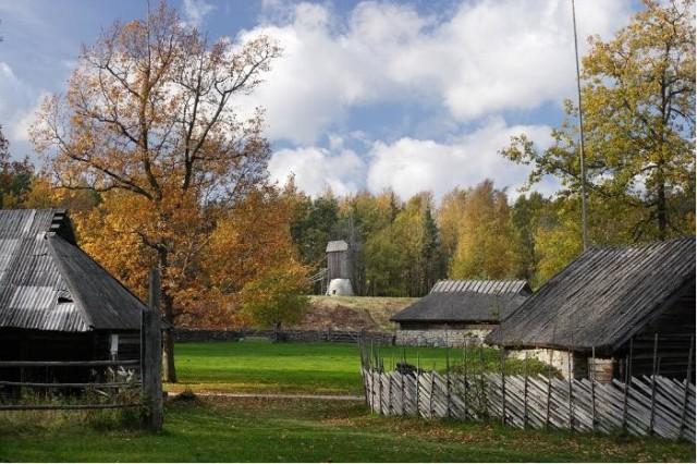 Латвийский этнографический музей в Риге