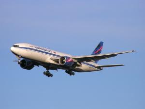 Боинг Аэрофлота: Москва-Рига-Москва