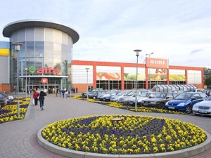 Торговый центр Альфа в Риге