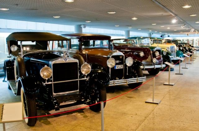Музей ретро-автомобилей в Риге