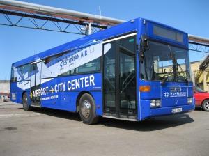 Автобус из аэропорта в Таллин