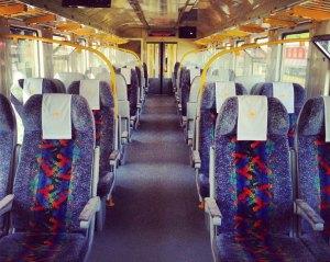 Поезд Минск-Виьнюс