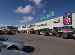 Торговый центр Sikupilli Keskus