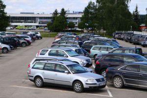 Парковка Рижского аэропорта