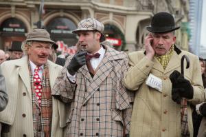 рождения Шерлока Холмса в Риге
