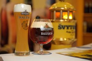 Латвийское пиво Швитурис