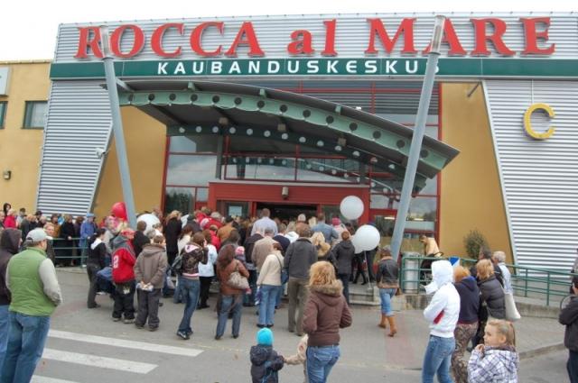 Торговый центр Rocca al Mare в Таллине