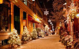 Вильнюс в зимний сезон